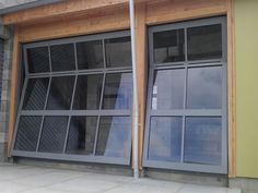stackable outside track barn garage doors - Google Search
