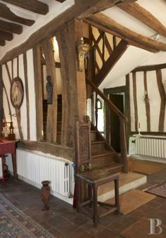 In Upper Normandy, 17th century presbytery - France mansions for sale - in Normandie, Bretagne, North, Perche - Patrice Besse Castles and Mansions of France is a Paris based real-estate agency specialised in the sale of Manors.