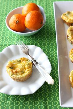 Mini Egg Frittatas with Broccoli, Cheddar, and Chipotle