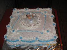 Modele Tort: TORT BOTEZ BAIETEL Cake, Desserts, Tailgate Desserts, Deserts, Kuchen, Postres, Dessert, Torte, Cookies