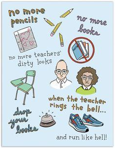 No More Pencils Graduation - The Found