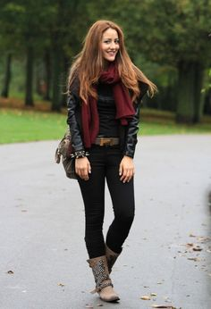 Casual fall style