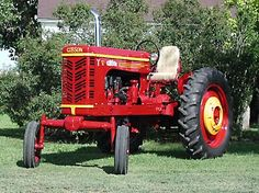 1948 Gibson Tractor -Gibson's first and last attempt at a full sized tractor line