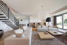 Elegant Interior of a Duplex Apartment