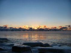 This is Lake Michigan
