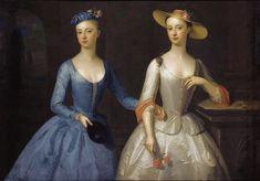 Lady Sophia and Lady Charlotte Fermor 1741