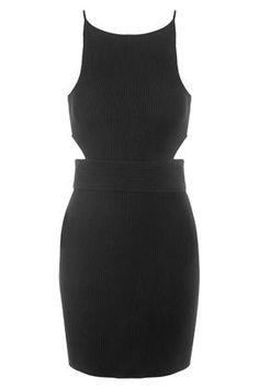 Cut-Out Mini Bodycon Dress