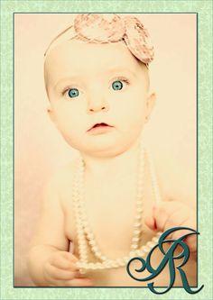 #portrait, #baby, #pearls