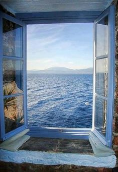 Alluring ocean view in Santorini, Greece travel & #save on tickets with #AirConcierge.com