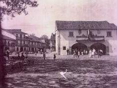 Plaza de Ayuntamiento de Escalante. año 1889