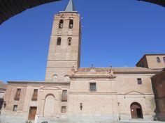 Vista desde los soportales de la Plaza de San Nicolàs.