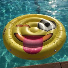 Emoji Swimming Pool Float Tongue Wink Emoticon Huge 60 Inch Raft So Cool For Pool Parties -- Check this useful article by going to the link at the image.