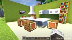 Minecraft Villa, Minecraft Mansion, Cute Minecraft Houses, Minecraft Houses Survival, Minecraft House Tutorials, Minecraft Room, Minecraft Plans, Minecraft House Designs, Amazing Minecraft