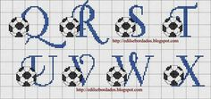 Thrilling Designing Your Own Cross Stitch Embroidery Patterns Ideas. Exhilarating Designing Your Own Cross Stitch Embroidery Patterns Ideas. Cross Stitch Alphabet Patterns, Embroidery Alphabet, Cross Stitch Letters, Cross Stitch Baby, Embroidery Applique, Cross Stitch Embroidery, Stitch Patterns, Le Point, Embroidery Techniques