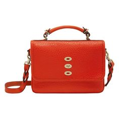 Mulberry - Bryn in Flame Shiny Grain Mulberry Purse, Classic Leather, All About Fashion, Accessories Shop, Leather Bag, Satchel, Women Wear, Handbags, Purses