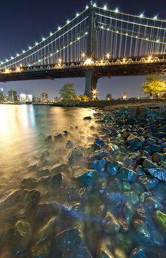 NYC. Brooklyn Bridge