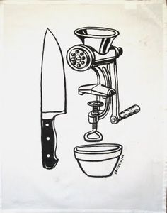 Check out Mince by Dick Frizzell at New Zealand Fine Prints Print Store, Printmaking, Screen Printing, Fine Art, Art Prints, Black And White, Models, Drawing, Diamond
