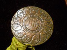 Ancient Buttons Rarest Expensive | Item: Rare & Important George Washington Inaugural Button c.1789