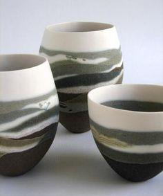 Best Ceramics Tips : – Picture : – Description Sue Scobie -Read More – Pottery Vase, Ceramic Pottery, Earthenware, Stoneware, Pottery World, Painted Plant Pots, China Art, Pottery Designs, White Clay