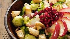 The 28-Day Shrink Your Stomach Challenge Shredded Brussels Sprouts and Apple Salad | The Dr. Oz Show