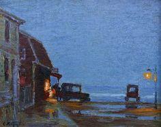 Twilight, 1910. Edward Potthast.