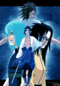 Team Hebi/Taka - Jugo, Karin,Sasuke & Suigetsu