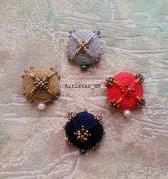 #brooch #embroidery #soutache  art of embroidery, soutache brooch #Artistka_EK