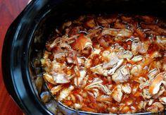 """Crock Pot Honey """"Bourbon Street"""" Chicken"""