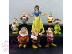 CAKE TOPPER DECOSETS : Snow White and The Seven Dwarfs Cake topper Decoset - Decorating Kit