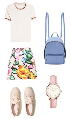 """""""Sin título #406"""" by dlalch on Polyvore featuring moda, Love Moschino, Carven, Topshop, Hollister Co. y STELLA McCARTNEY"""