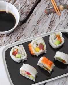 las recetas de mj sushi california rolls