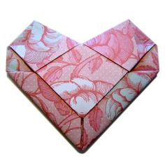 Fold an Origami Heart Envelope - Easy Video Tutorial Valentines Day Love Letters, My Funny Valentine, Homemade Valentines, Valentine Gifts, Homemade Gifts For Boyfriend, Birthday Gifts For Boyfriend, Boyfriend Gifts, Boyfriend Ideas, Origami Letter