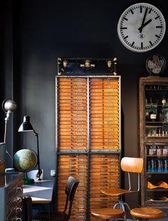 love honey flatfile drawers.  optometrist cabinet or sumfin?
