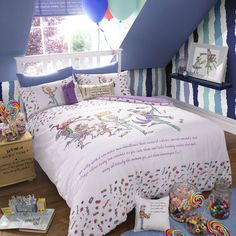 Charlie and the Chocolate Factory Double Duvet set <3 <3 <3