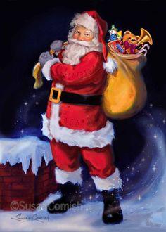 Susan Comish Christmas Art Gallery   Quality Prints & Original Artwork