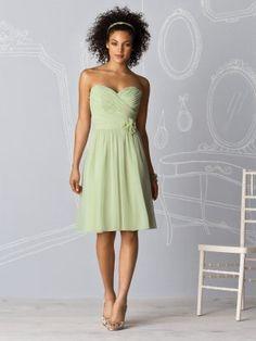 mint bridesmaids dress    www.dessy.com/dresses/bridesmaid/6609/
