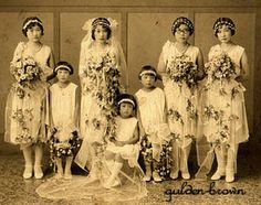 Vintage Fashion History- 1920's Wedding Styles