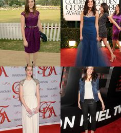 Mandy Moore also looks amazing in most any color. The navy one is my favorite here :)