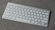 "A photo of a wireless computer keyboard. Credit: Wikipedia. Read more on the GenealogyBank blog: ""5 Time-Saving Computer Keyboard Shortcuts for Busy Genealogists."" http://blog.genealogybank.com/5-time-saving-computer-keyboard-shortcuts-for-busy-genealogists.html"