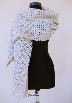 Hey, I found this really awesome Etsy listing at https://www.etsy.com/listing/197143926/crochet-shawl-stole-pattern-crochet