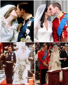Two Royal Weddings: Charles & Diana July 29, 1981; William & Catherine April 29, 2011