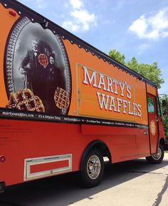 Marty's Waffles: 2014 Best Food Truck Graphic Design of the Year