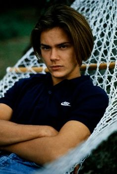 river phoenix tumblr | Running on River | Love him blonde, but with more dark hair was sooo ...