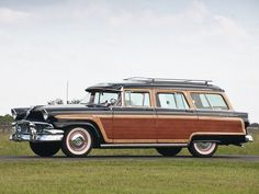 1956 Ford Country Squire Station Wagon. Even at a young age I was jealous of our neighbors who had this wagon