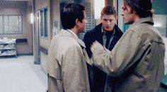 One of my fave Supernatural bloopers. Moose kisses