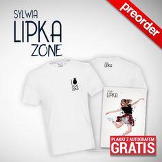"""(PREORDER) Sylwia Lipka koszulka Męska """"I LOVE SYLWIA LIPKA"""""""