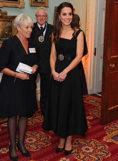 Princes Kate Comforts Mom Who Broke Down as Her Son Described Coping withAutism at a charity event in London on November 22, 2016.
