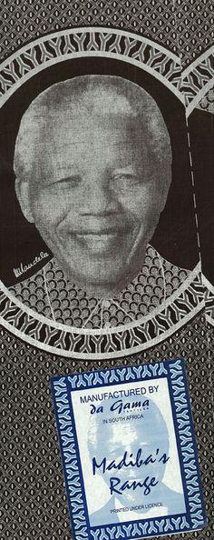 Mandela print fabric