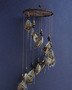 Mobile Dreamcatcher Dream catcher Mobile Baby by LittleAmber