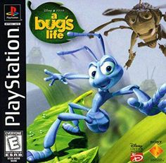 Complete Bug's Life Greatest Hits, Disney Sony Playstation 1 used video game available for sale. Bug Games, Games To Play, Playstation 2, Playstation Consoles, Arcade, Videogames, Traveller's Tales, Nintendo 64 Games, Game Of The Day